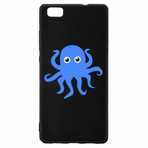 Etui na Huawei P 8 Lite Blue octopus