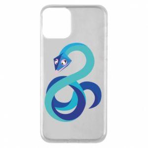 Etui na iPhone 11 Blue snake