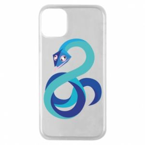 Etui na iPhone 11 Pro Blue snake