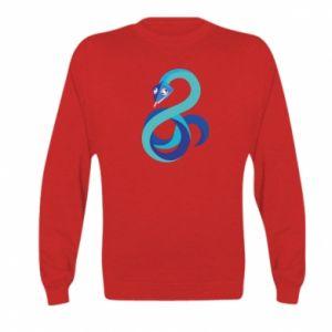 Bluza dziecięca Blue snake