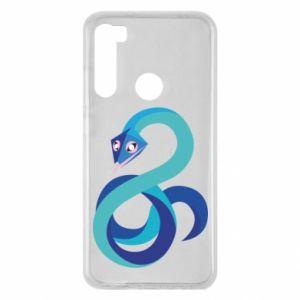 Etui na Xiaomi Redmi Note 8 Blue snake