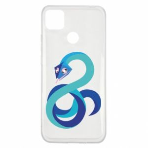 Etui na Xiaomi Redmi 9c Blue snake