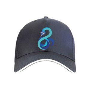 Czapka Blue snake