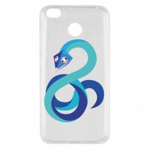 Etui na Xiaomi Redmi 4X Blue snake