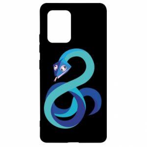 Etui na Samsung S10 Lite Blue snake