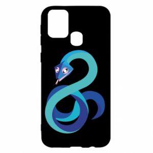 Etui na Samsung M31 Blue snake