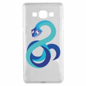 Etui na Samsung A5 2015 Blue snake