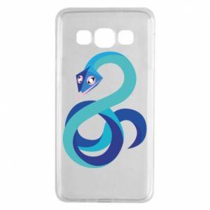 Etui na Samsung A3 2015 Blue snake