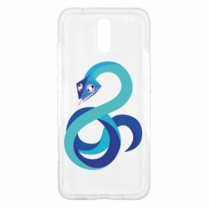 Etui na Nokia 2.3 Blue snake