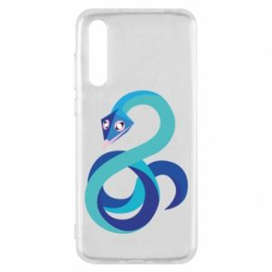 Etui na Huawei P20 Pro Blue snake