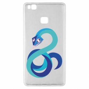 Etui na Huawei P9 Lite Blue snake