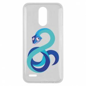 Etui na Lg K10 2017 Blue snake