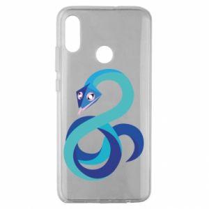 Etui na Huawei Honor 10 Lite Blue snake