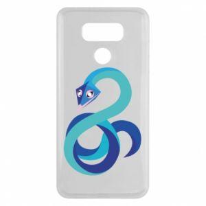 Etui na LG G6 Blue snake