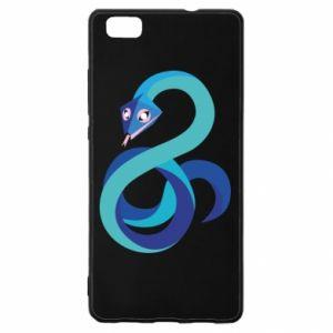 Etui na Huawei P 8 Lite Blue snake