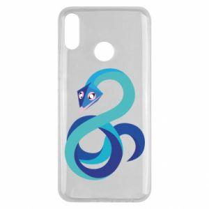 Etui na Huawei Y9 2019 Blue snake