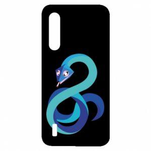Etui na Xiaomi Mi9 Lite Blue snake