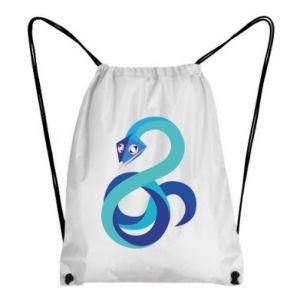 Plecak-worek Blue snake