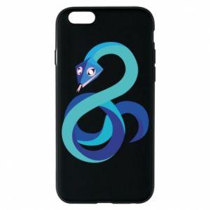 Etui na iPhone 6/6S Blue snake