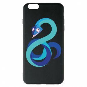 Etui na iPhone 6 Plus/6S Plus Blue snake