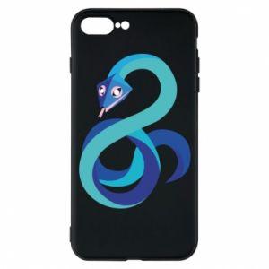 Etui do iPhone 7 Plus Blue snake
