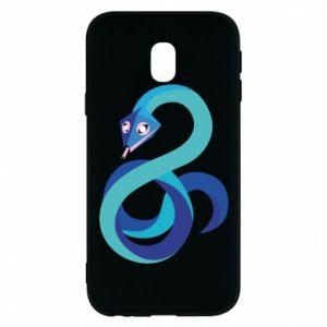 Etui na Samsung J3 2017 Blue snake