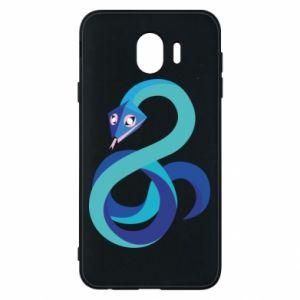 Etui na Samsung J4 Blue snake