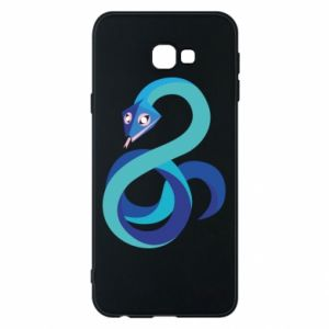 Etui na Samsung J4 Plus 2018 Blue snake