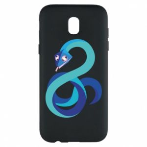 Etui na Samsung J5 2017 Blue snake