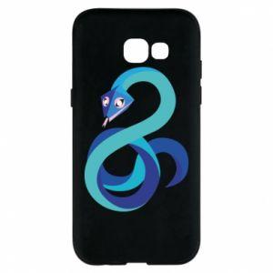 Etui na Samsung A5 2017 Blue snake
