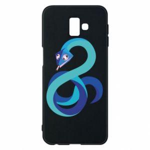 Etui na Samsung J6 Plus 2018 Blue snake