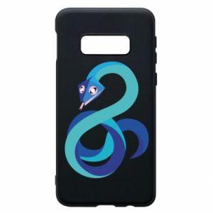 Etui na Samsung S10e Blue snake
