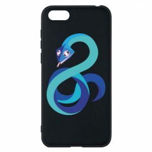 Etui na Huawei Y5 2018 Blue snake