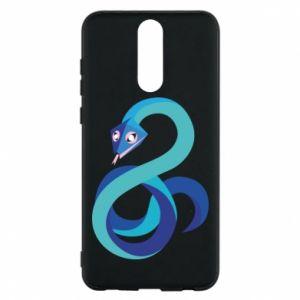 Etui na Huawei Mate 10 Lite Blue snake