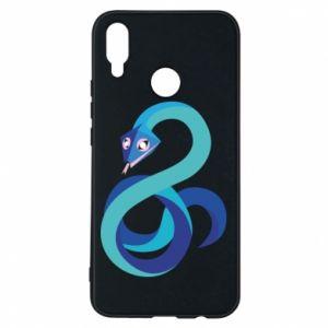 Etui na Huawei P Smart Plus Blue snake