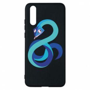 Etui na Huawei P20 Blue snake