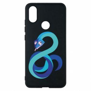 Etui na Xiaomi Mi A2 Blue snake