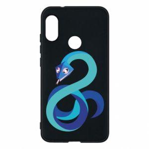 Etui na Mi A2 Lite Blue snake