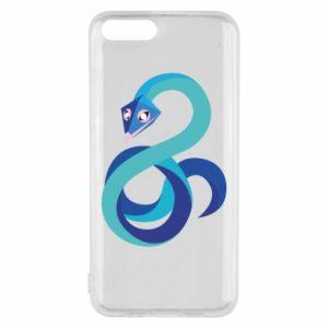 Etui na Xiaomi Mi6 Blue snake
