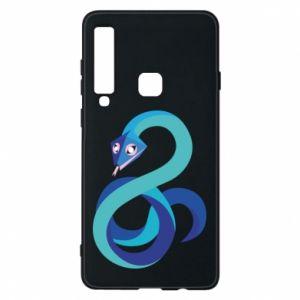 Etui na Samsung A9 2018 Blue snake