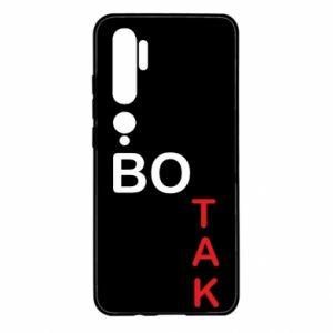 Etui na Xiaomi Mi Note 10 Bo tak