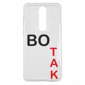 Etui na Nokia 5.1 Plus Bo tak