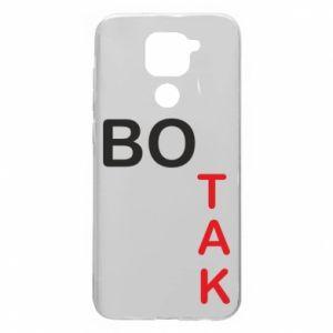 Etui na Xiaomi Redmi Note 9/Redmi 10X Bo tak