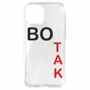 Etui na iPhone 12 Mini Bo tak
