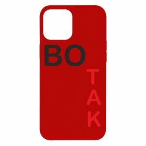Etui na iPhone 12 Pro Max Bo tak