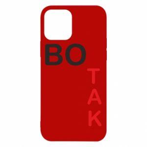 Etui na iPhone 12/12 Pro Bo tak
