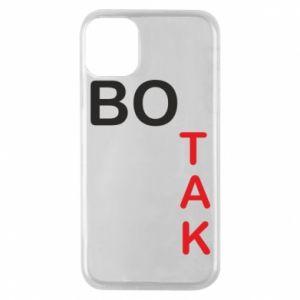 Etui na iPhone 11 Pro Bo tak
