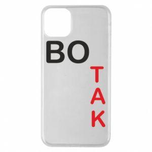 Etui na iPhone 11 Pro Max Bo tak