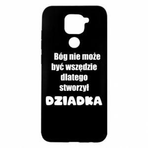 Xiaomi Redmi Note 9 / Redmi 10X case % print% God can not be everywhere, for grandpa
