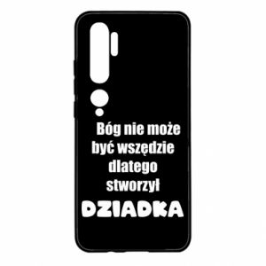 Xiaomi Mi Note 10 Case God can not be everywhere, for grandpa